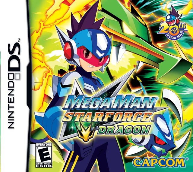 Mega Man Star Force falls into the trap of many games that are simply